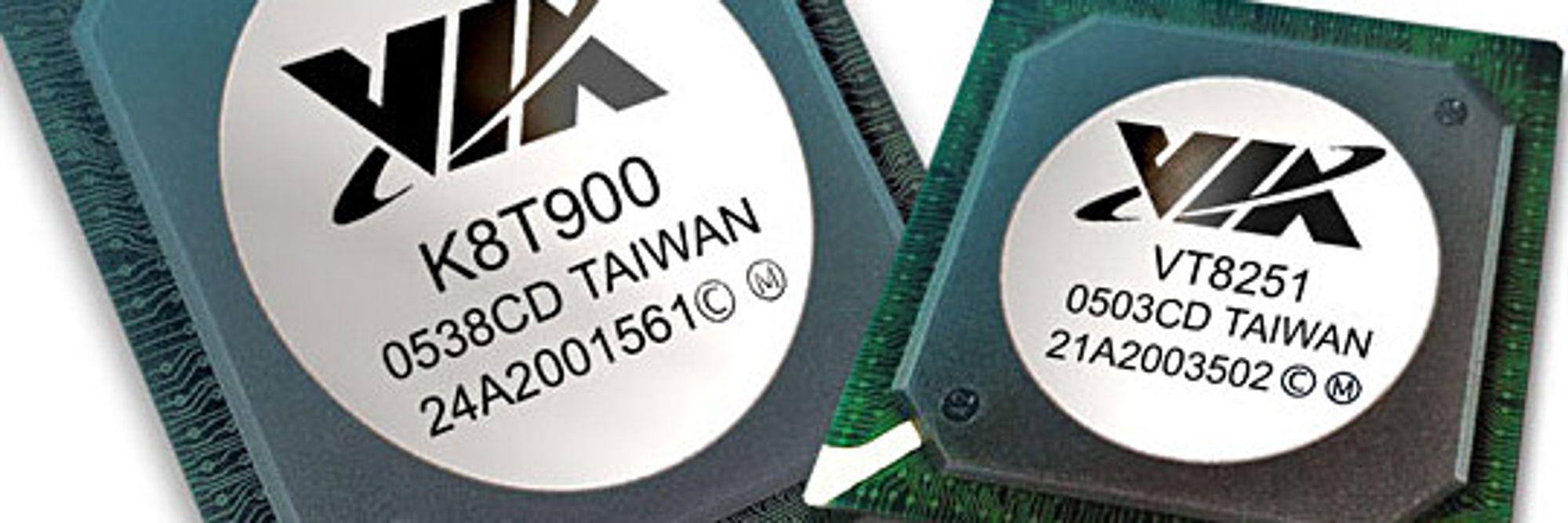 VIAs nyeste AMD-brikkesett: K8T900