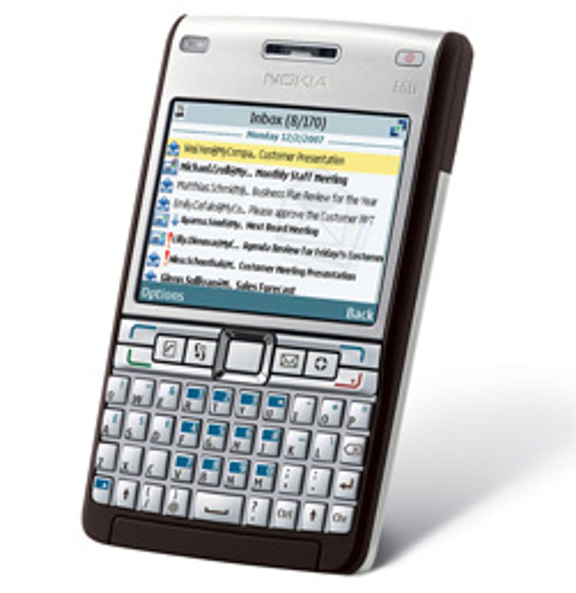 E61i kan få en etterkommer. (Foto: Nokia)