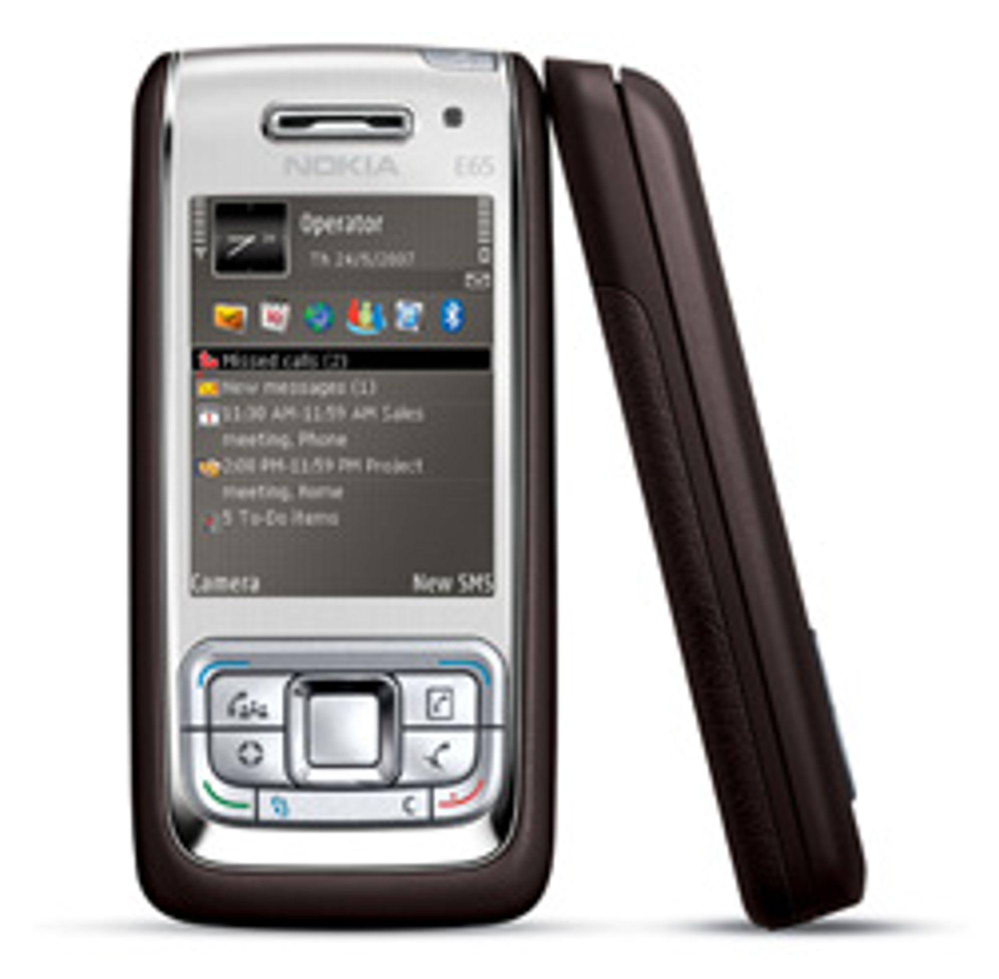 E65 fikk gode skussmål i vår test. (Foto: Nokia)