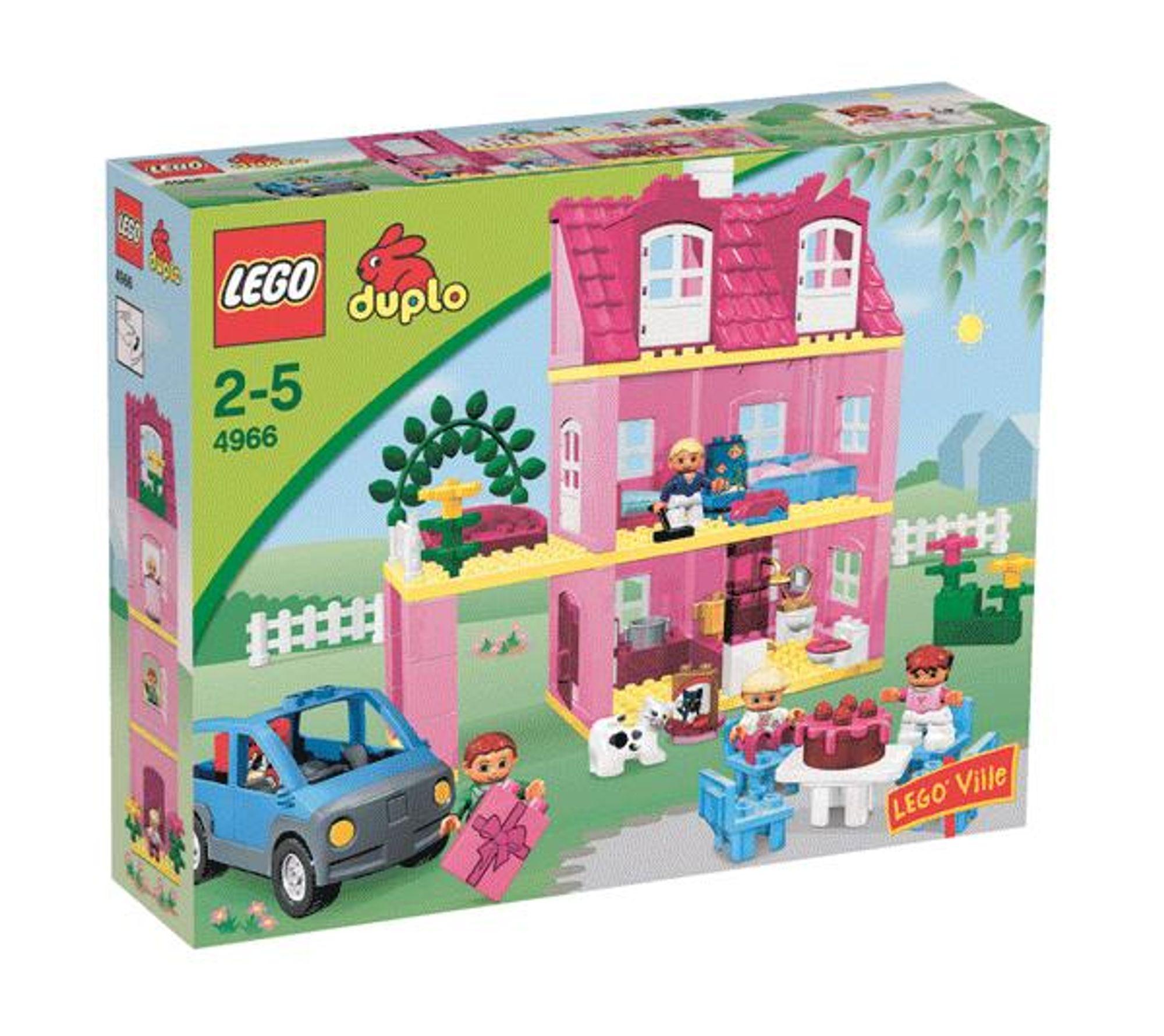 Lego duplo dukkehus priser tester og tilbud lego for Adventskalender duplo