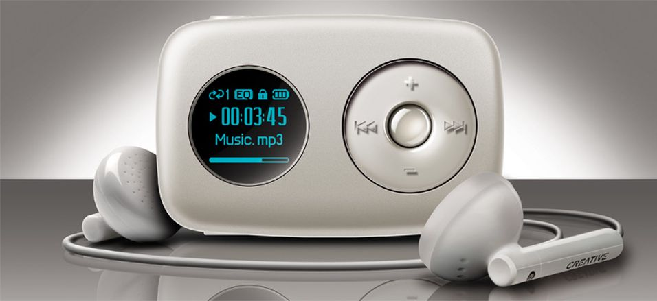 Dette er Creatives nye Zen Stone Plus Speaker.