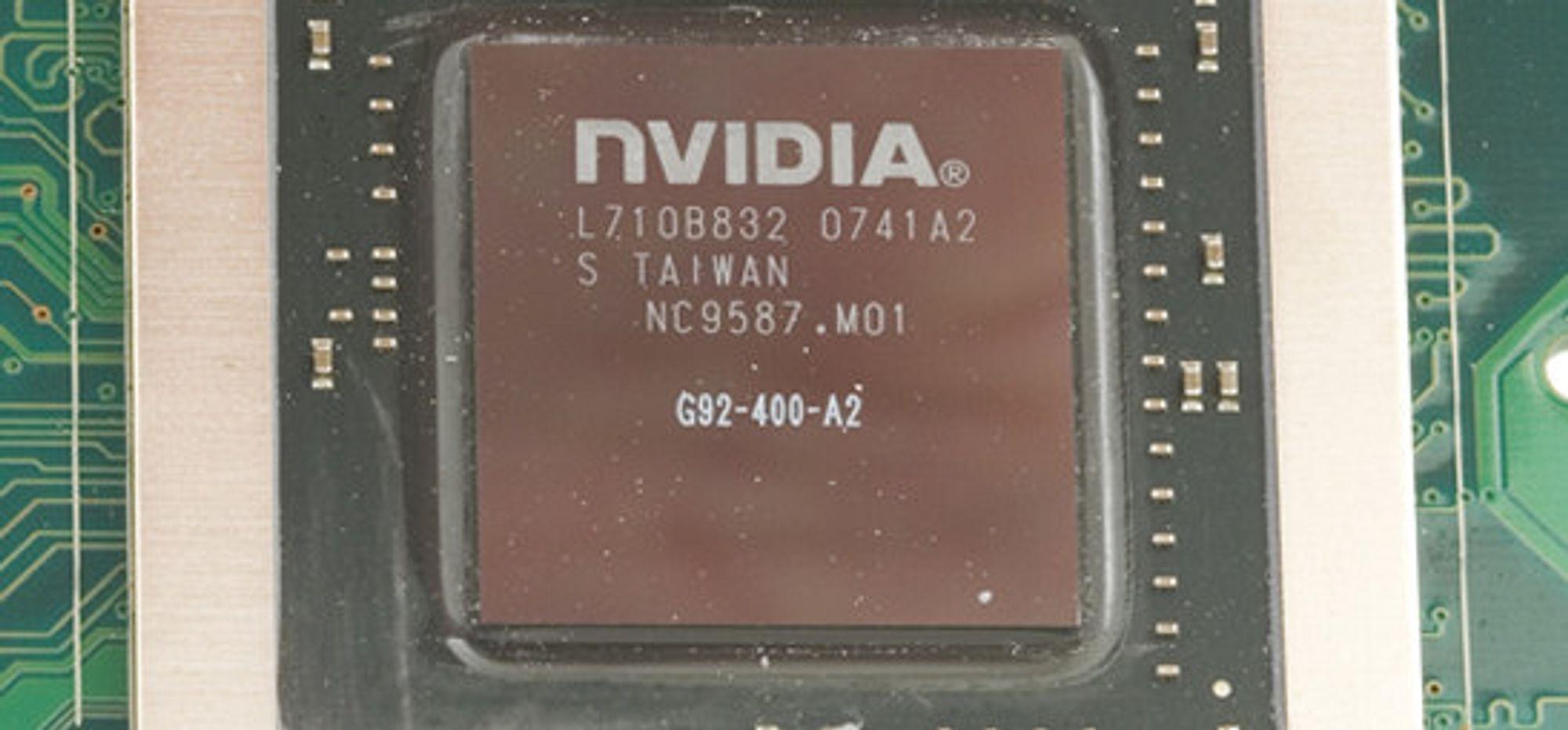 Nye bruksområder for Nvidias G92-brikke
