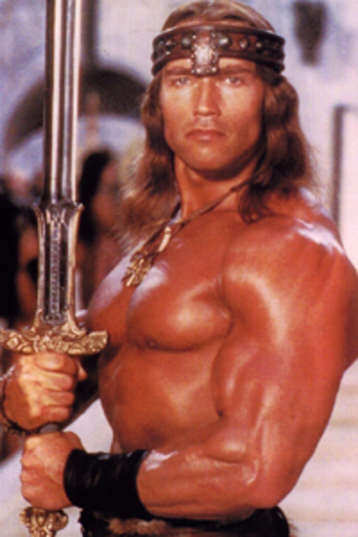 Conan, Spilt av Arnold Schwarzenegger.