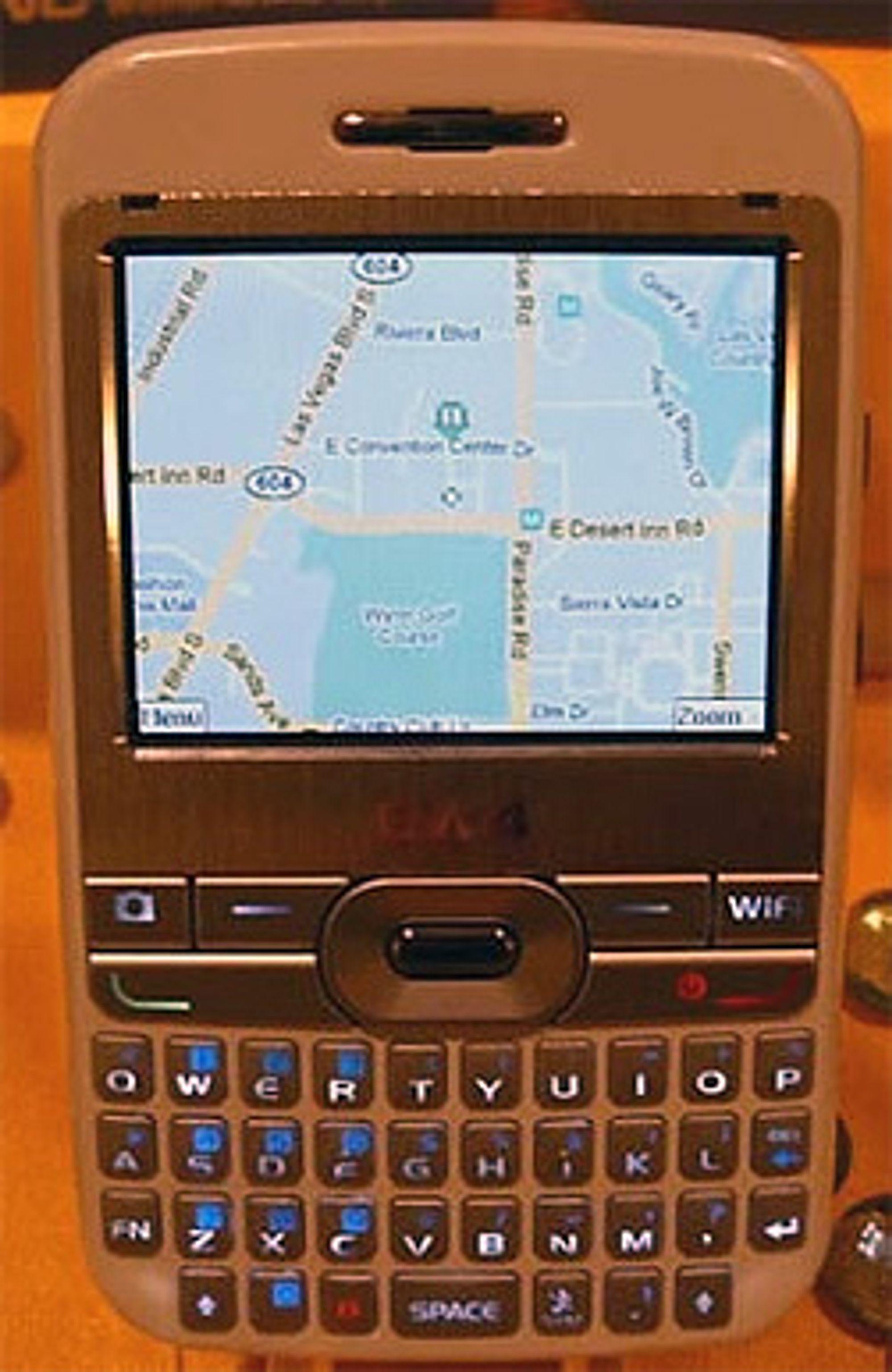 Slik ser den første Android-mobilen ut. (Foto: Mobilemag)