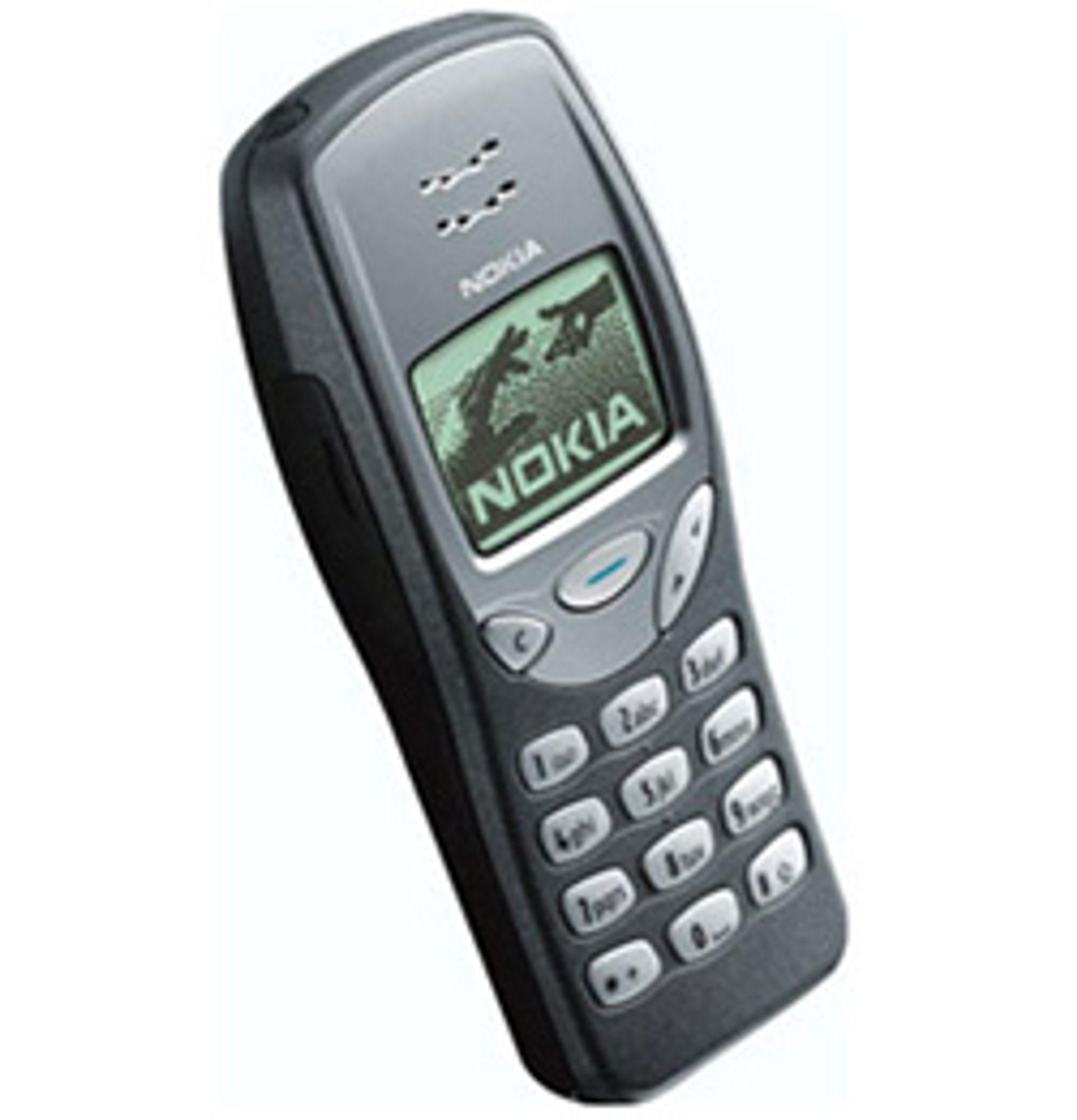 Nokia 3210 var stålgrå og kul.