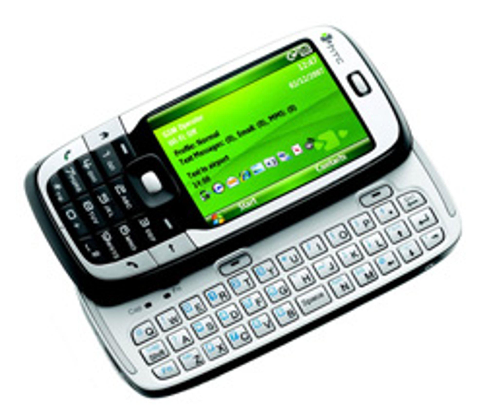 HTC S710 var både liten og hadde  fulltastatur.
