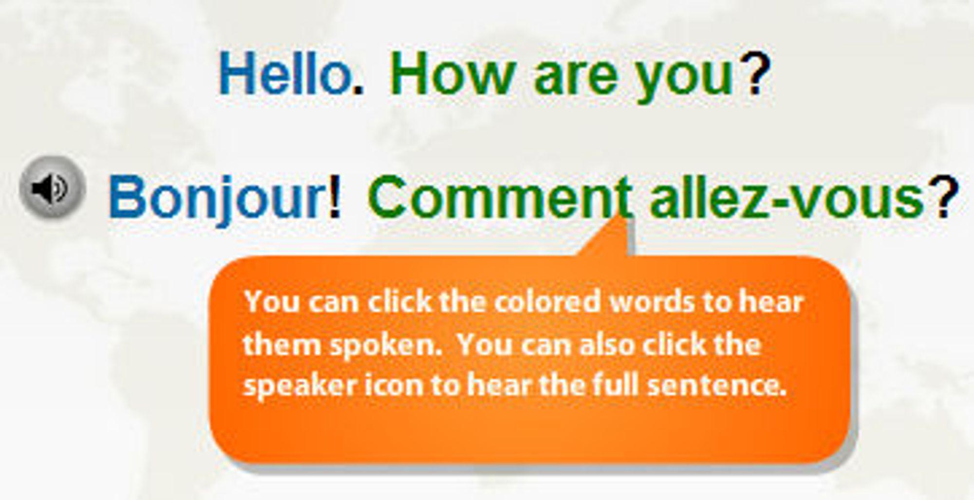 På nettet flirt språk tips