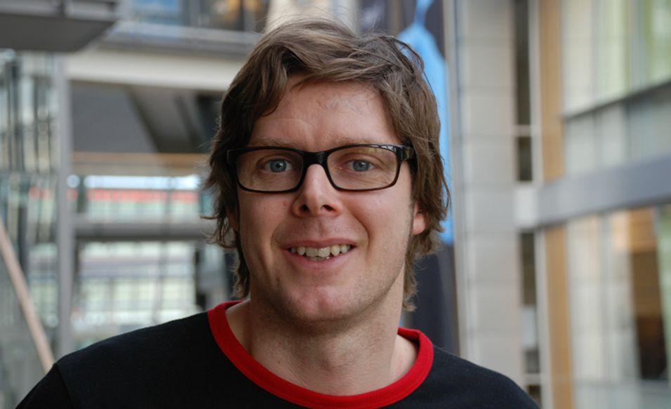 Klaus Sørland i Telenor håper å selge mer musikk uten kopisperre.