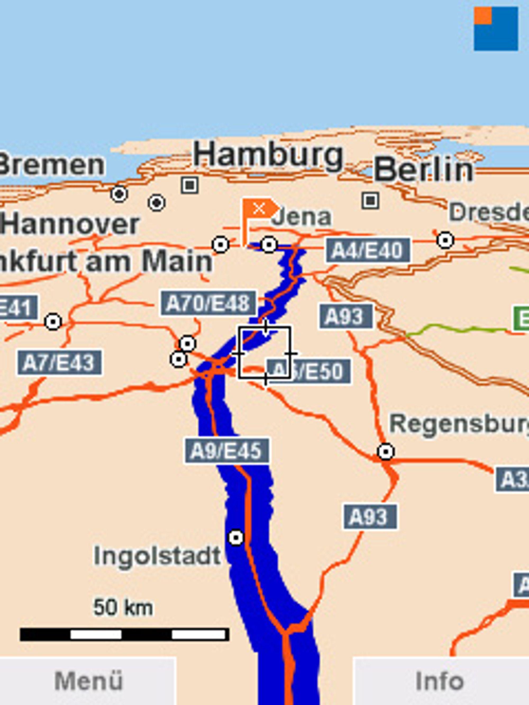 Map24 lar deg navigere uten GPS.