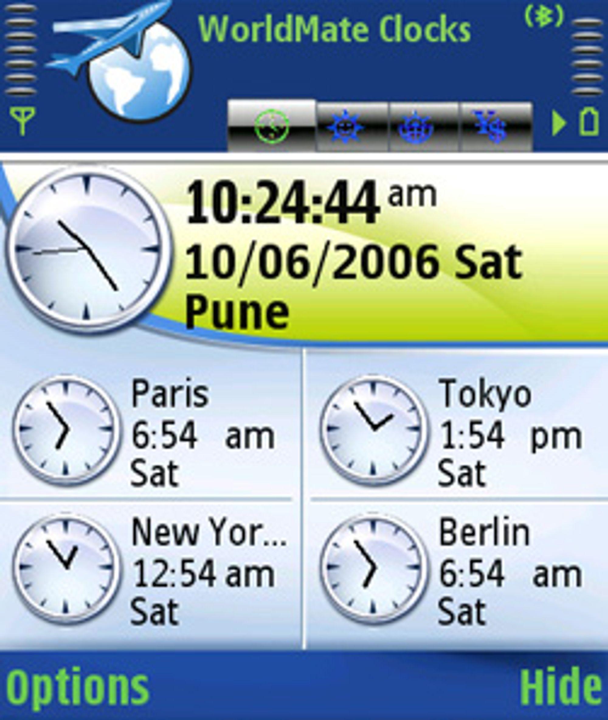 World Mate gir deg en rekke verktøy til reisen.