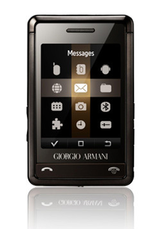 Samsungs Armani er rett og slett ikke god nok. (Foto: Samsung)