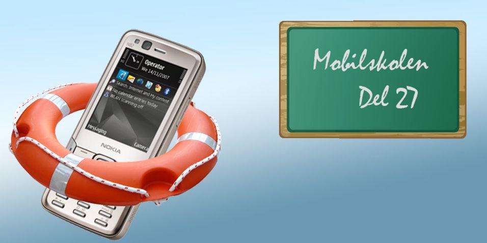GUIDE: Ta backup av mobilen