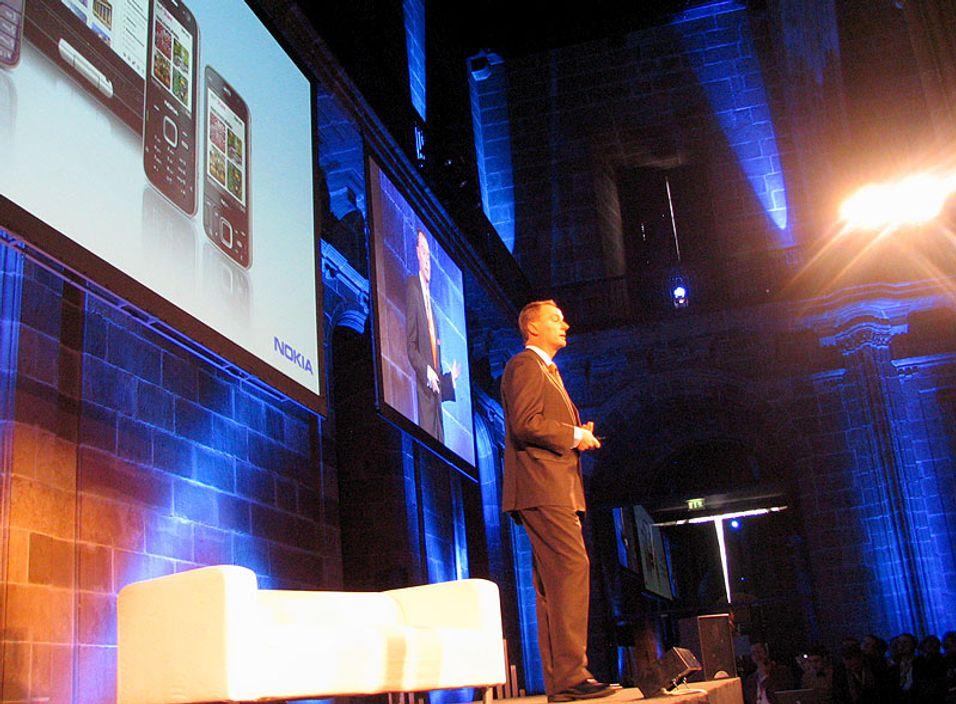 Nokia lanserte fire nye smarttelefoner i dag.