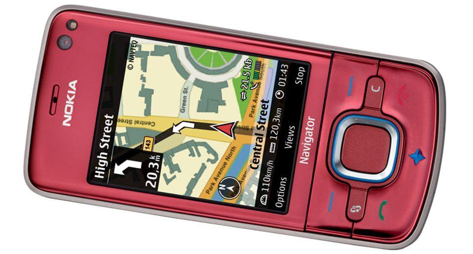 6210 har GPS og super-3G.