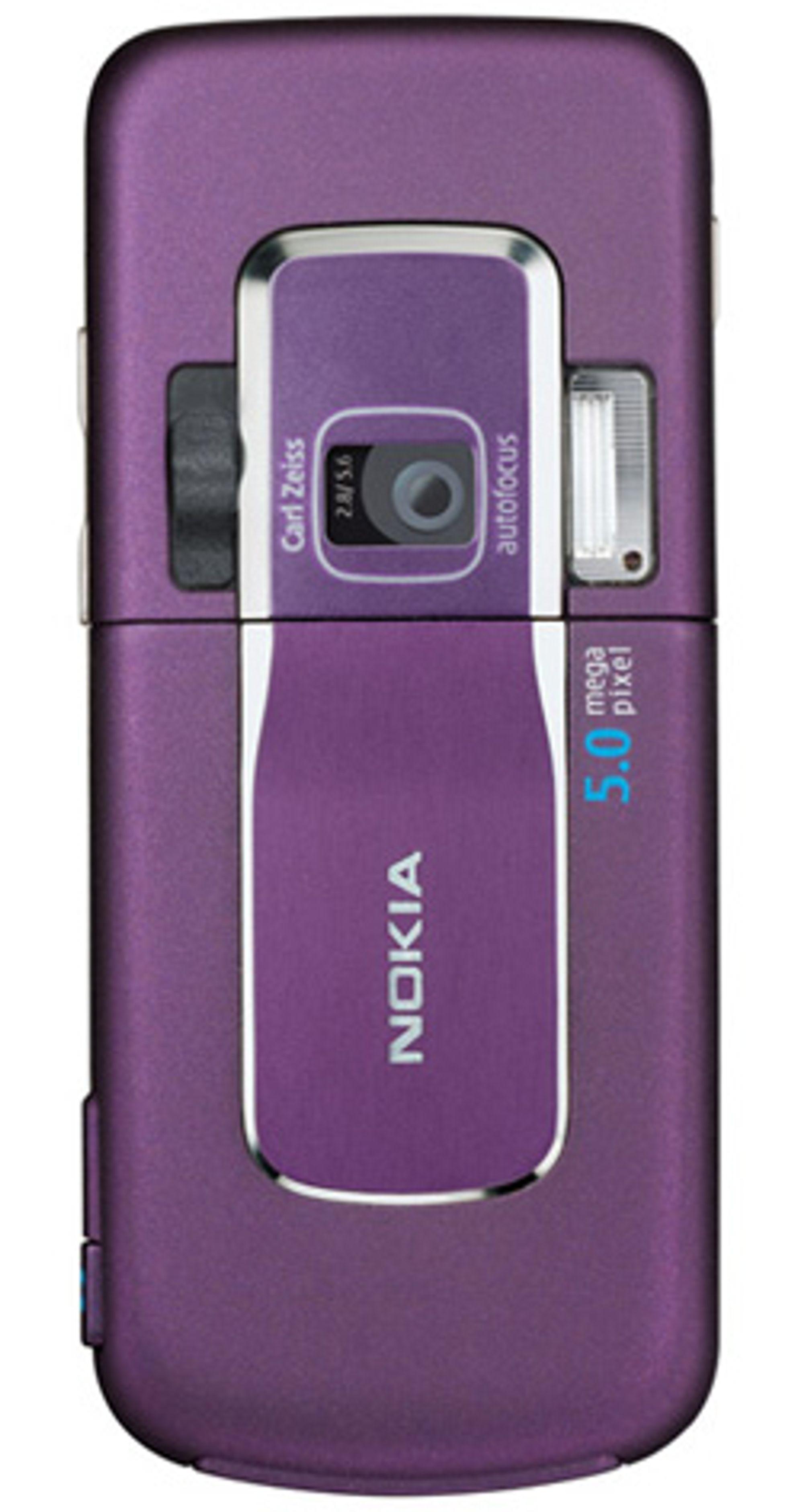 Baksiden av Nokias 6200 Classic. (Foto: Nokia)