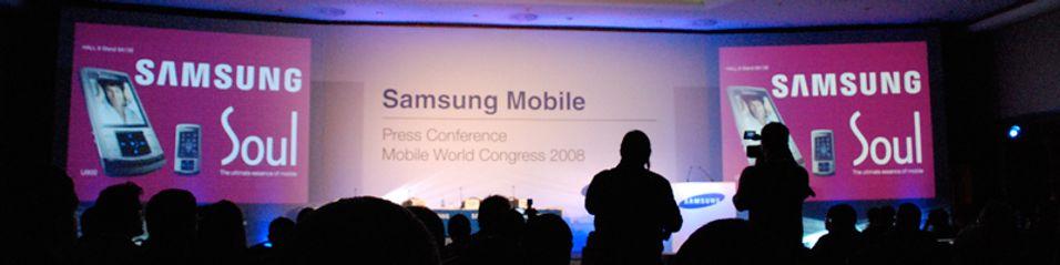 Samsung har sluppet en haug med nye mobiler i Barcelona