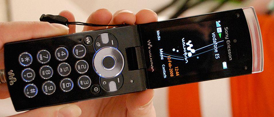 SNIKTITT: Sony Ericsson W980i