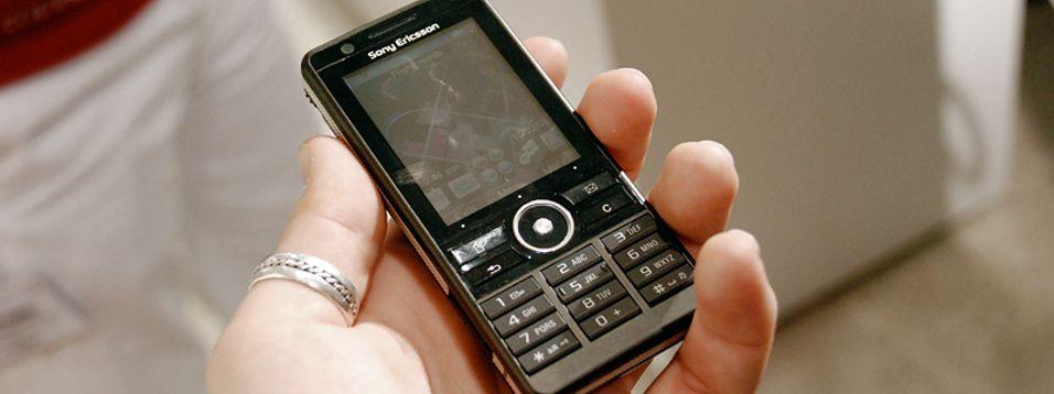 G900 er Sony Ericssons nye proffhåp.