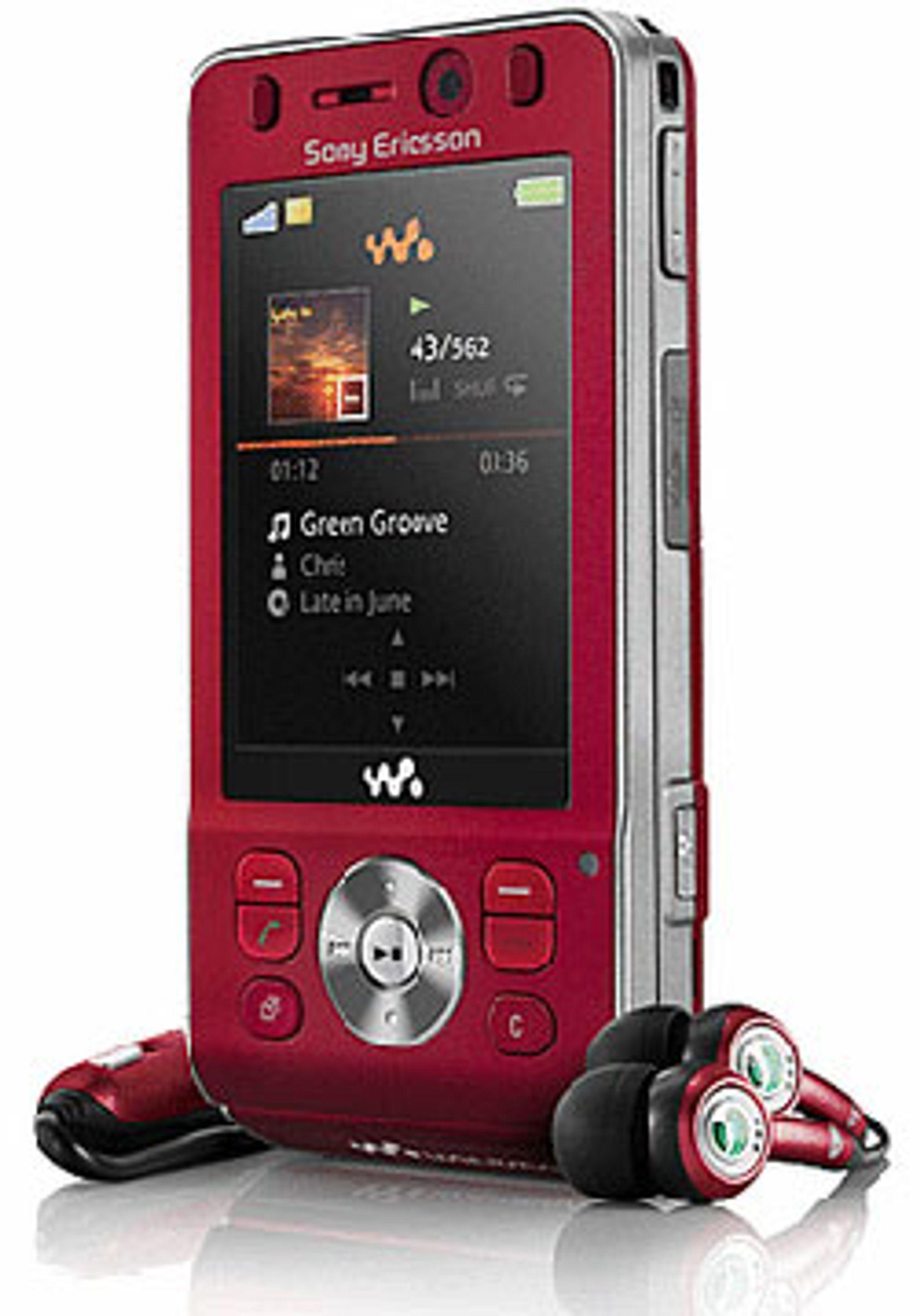 GSM Association likte Sony Ericssons W910i. (Foto: Sony Ericsson(