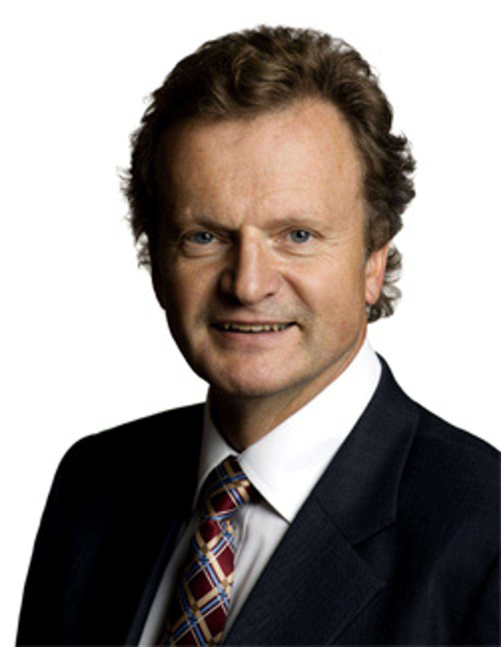 Telenors overhode, Jon Fredrik Baksaas, er ikke fornøyd. (Foto: Telenor)