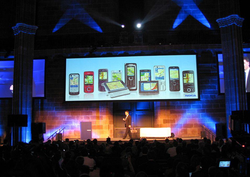 På Mobile World Congress ble det lansert telefoner i bøtter og spann.