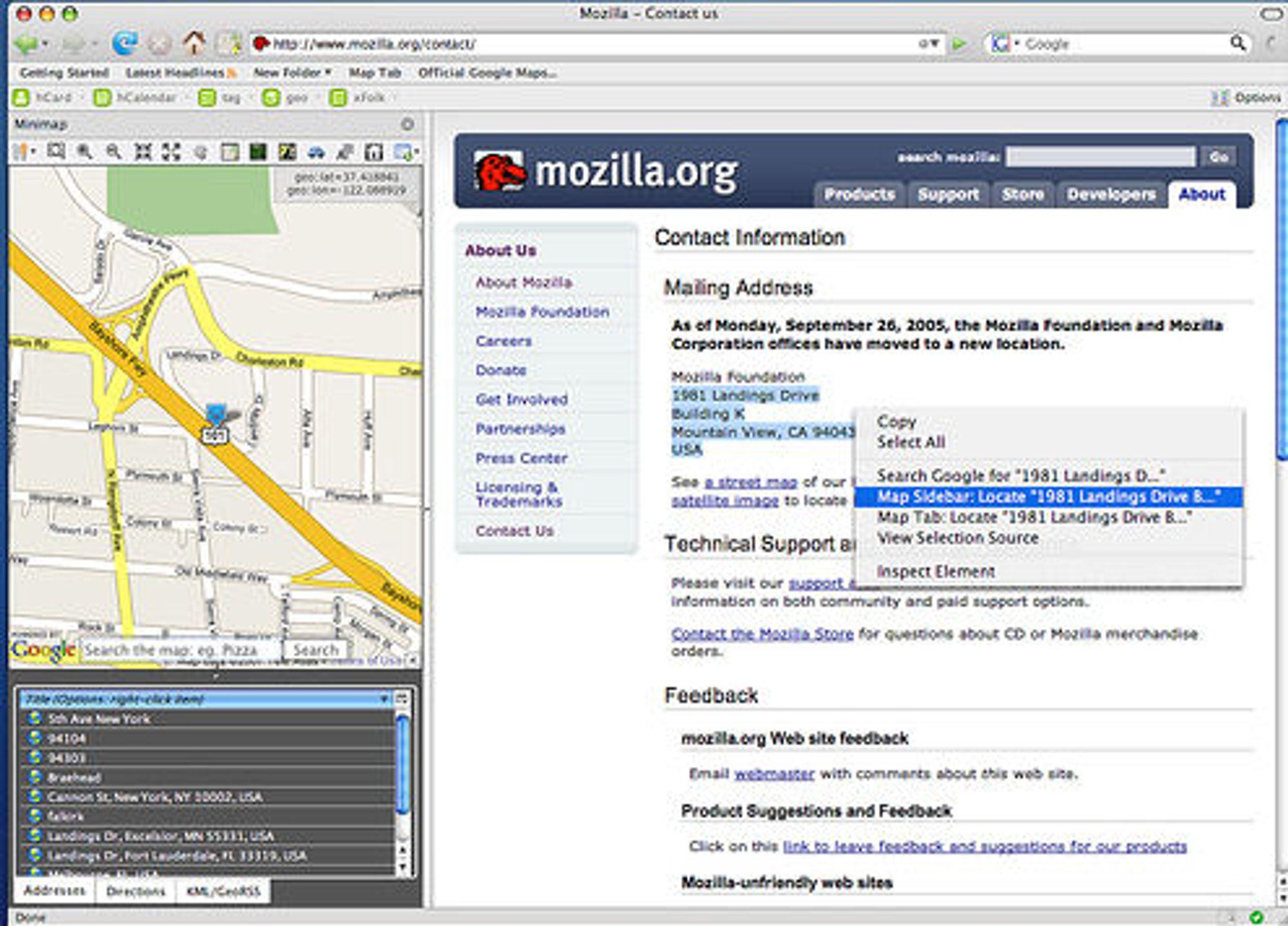 Minimap Sidebar.