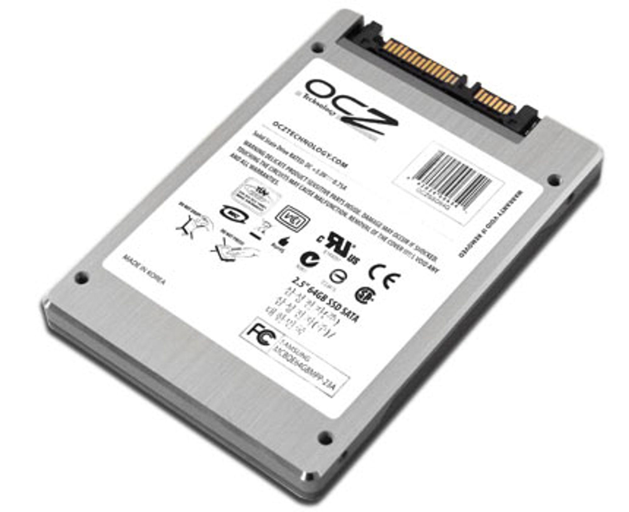 Vi sjekker batteritiden med OCZ' 64 SSD-enhet