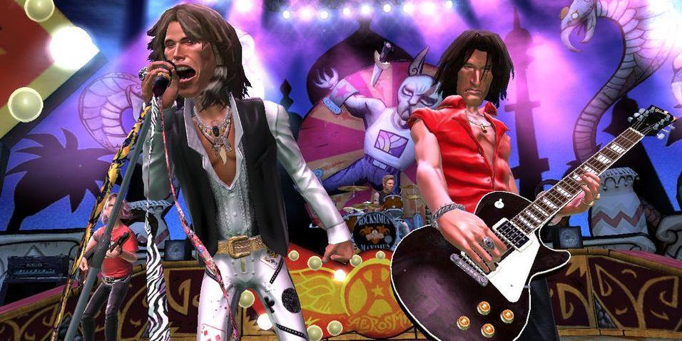 Aerosmith blir gitarhelter