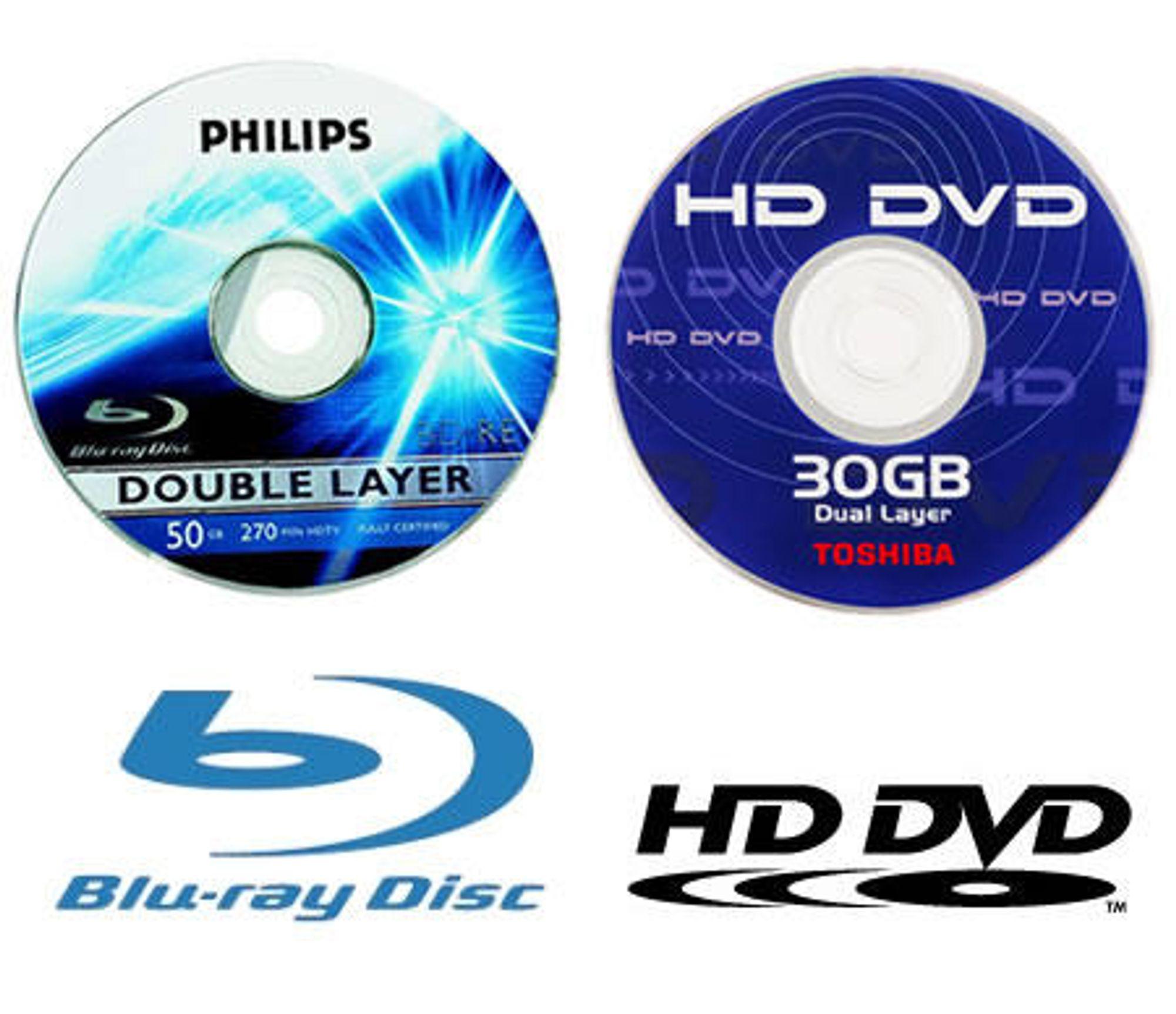 HD DVD i ferd med å tape for Blu-ray?