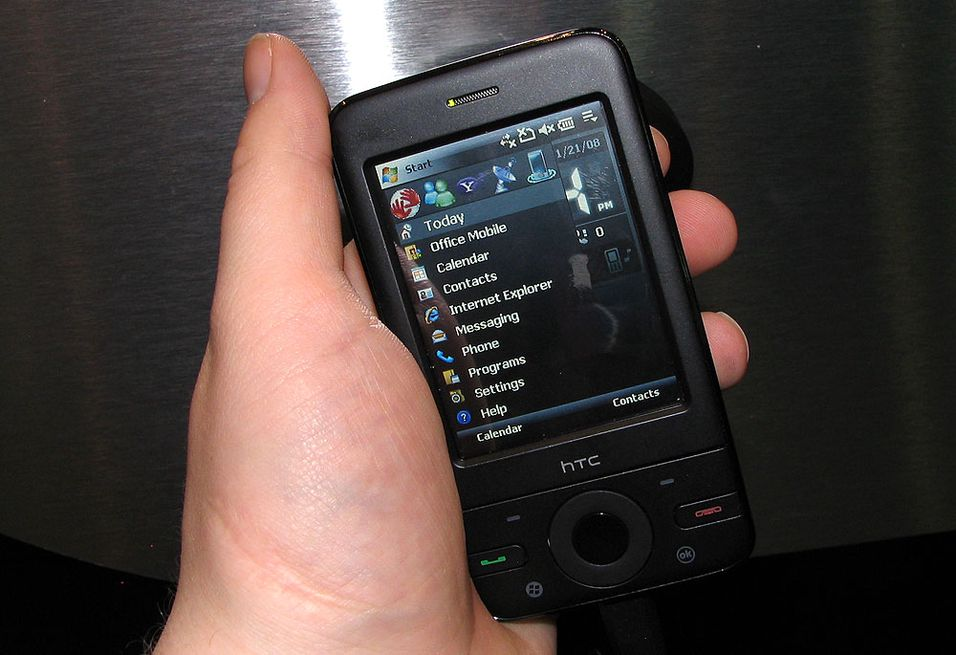 HTC P3470 var den eneste nye mobiltelefonen fra HTC forrige uke.
