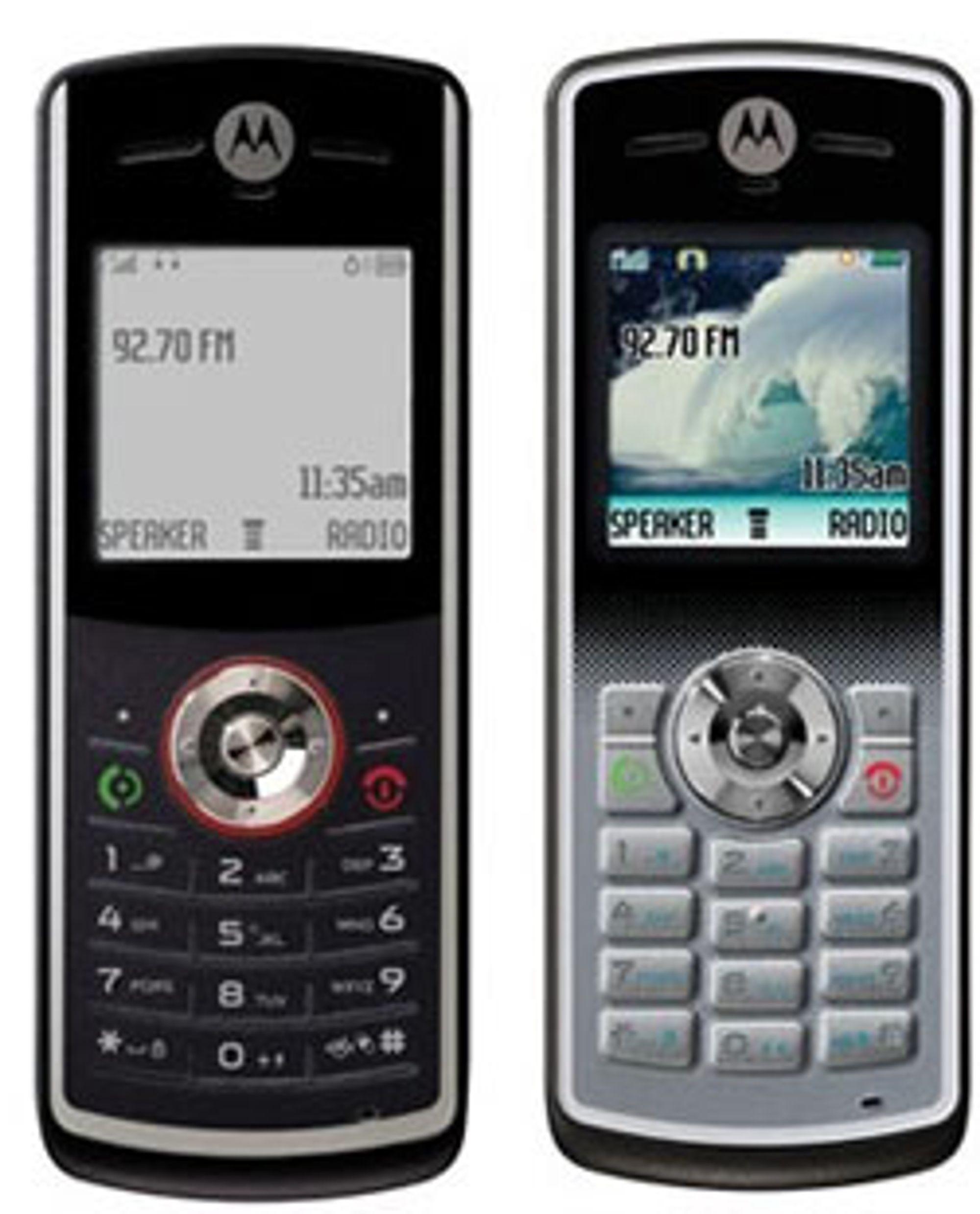 Disse to var også nykommere fra Motorola.