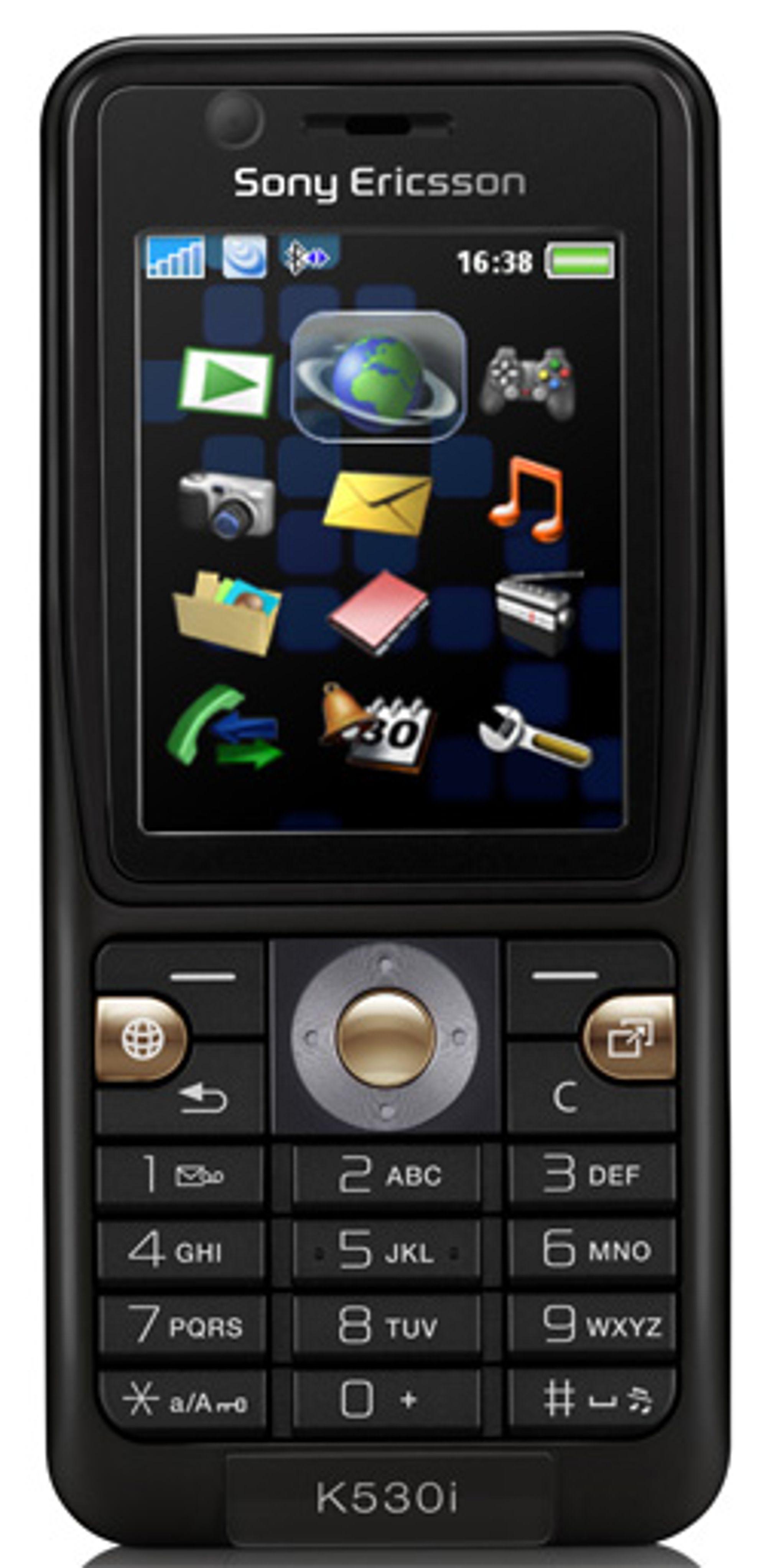 Kommer Wi-fi til enkle Sony Ericsson-mobiler? (Foto: Sony Ericsson)