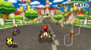 Mario Kart Wii mister nettspillingen litt tidligere.