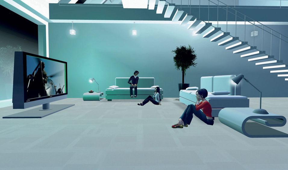 En leilighet i Second Life.
