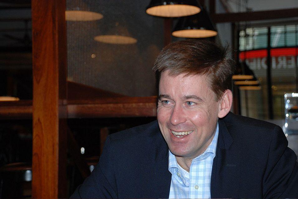 August Baumann er administerende direktør i Netcom.