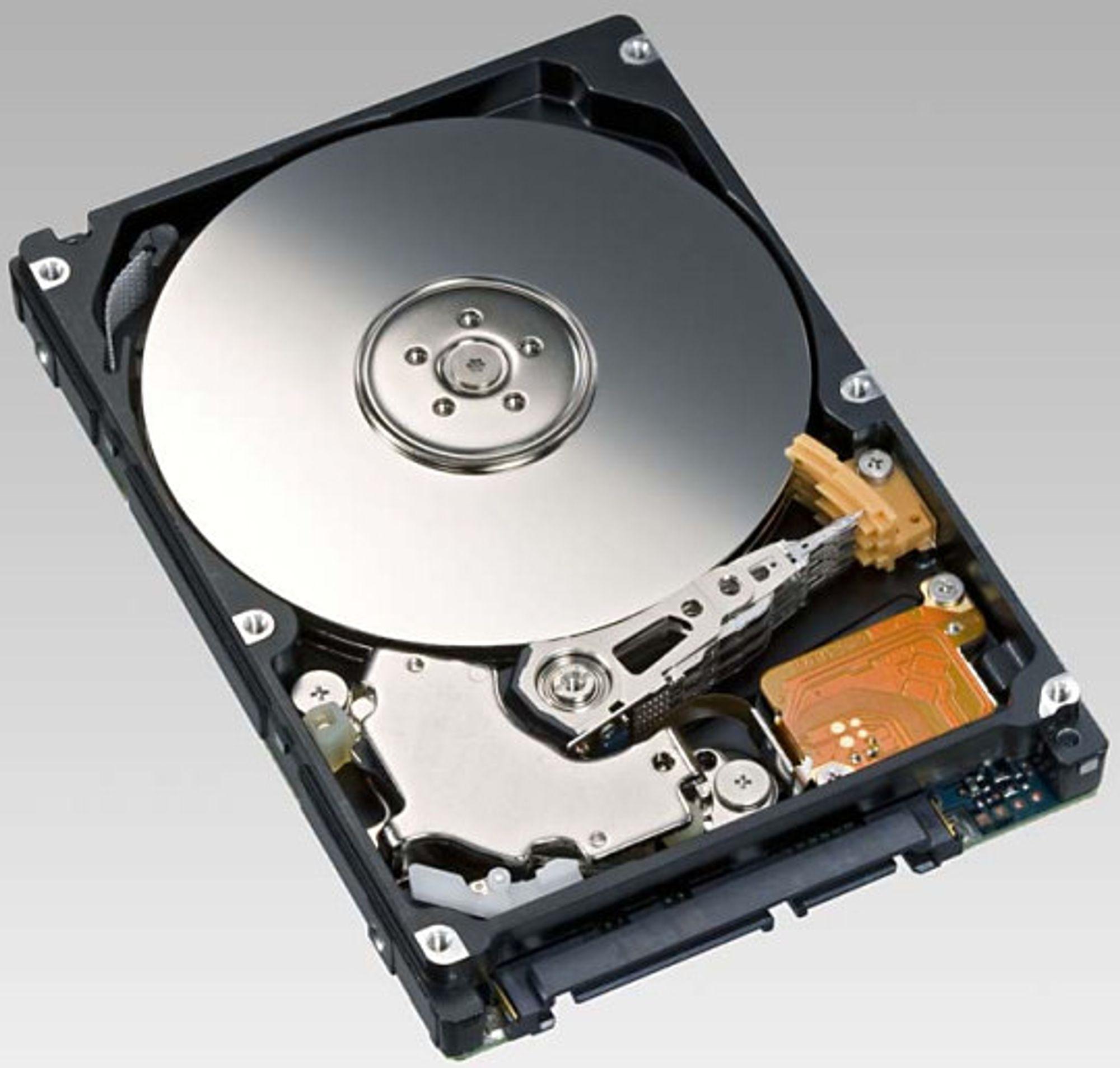 Opptil 500 GB kapasitet: Fujitsu MHZ2 BT