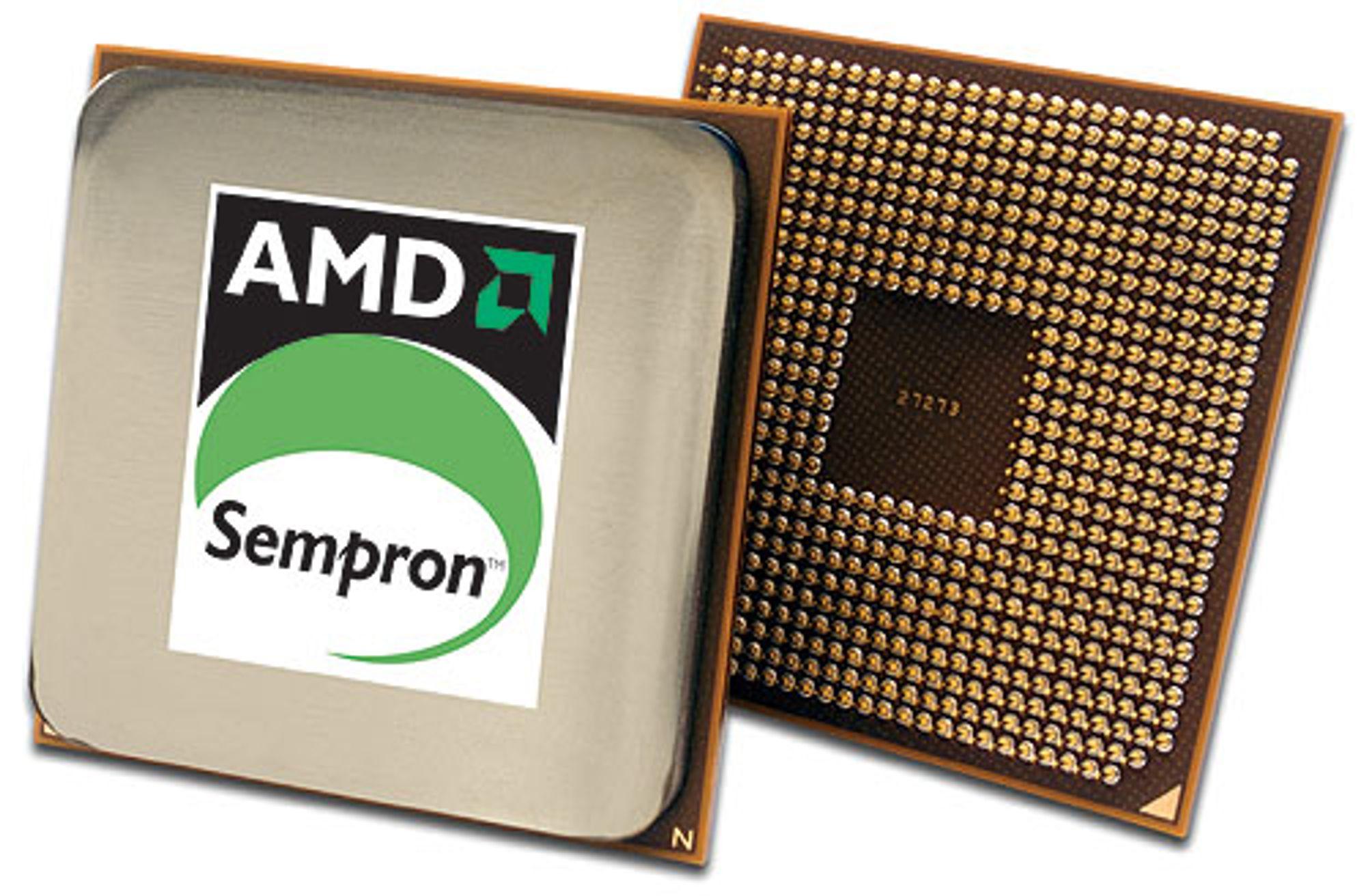 AMD Sempron: Nå med doble kjerner
