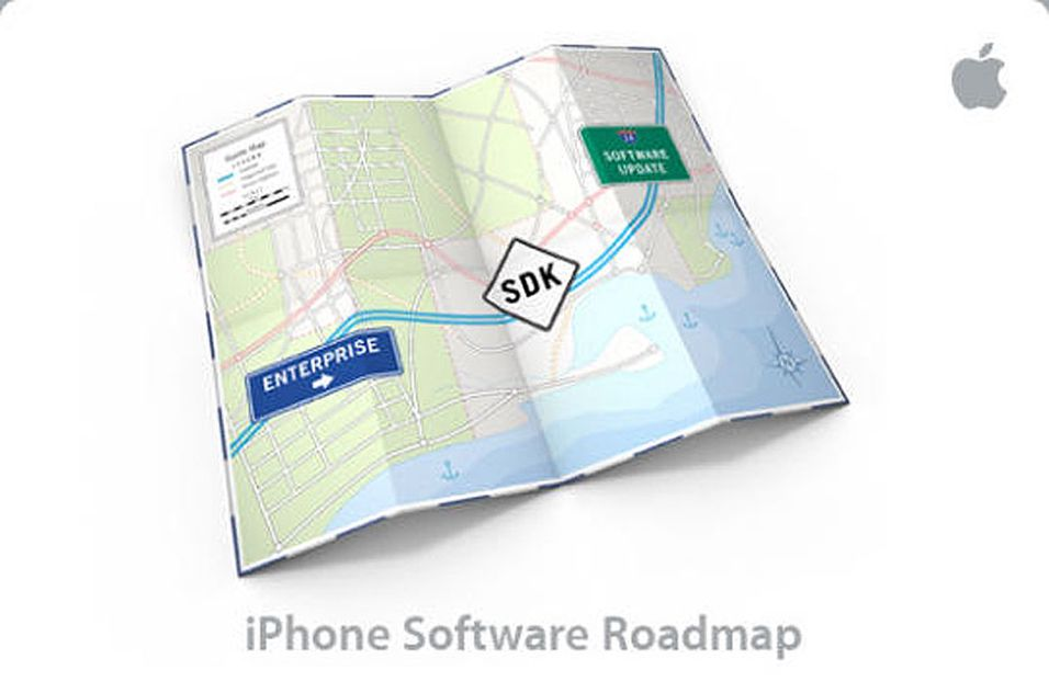 "Apple skal presentere sin Iphone-programvare-""roadmap"" 6. mars."