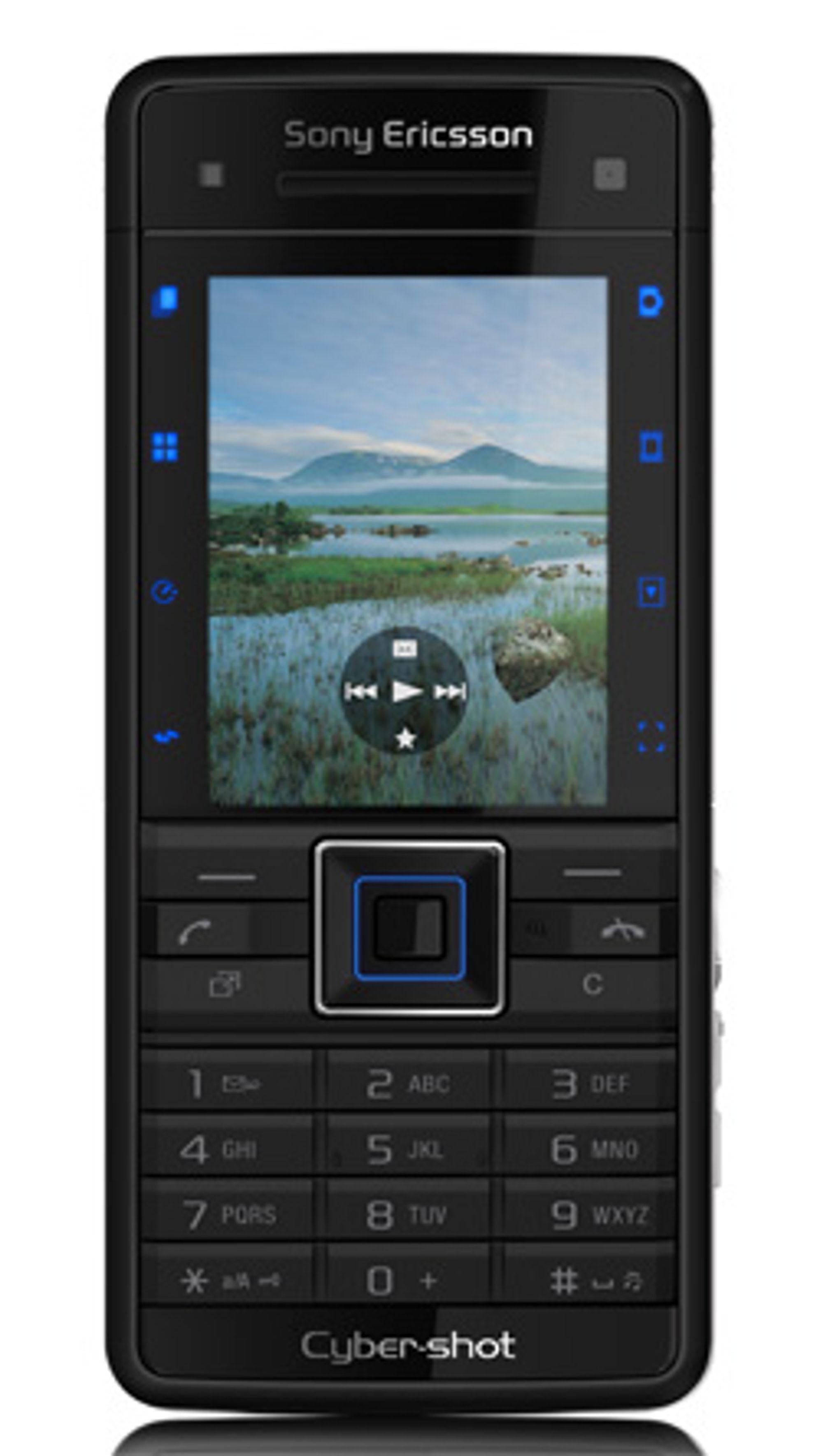 C902i kommer i rødt og svart. (Foto: Sony Ericsson)