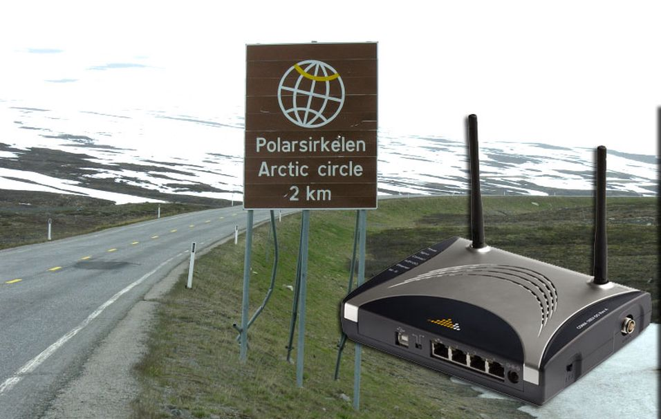 Ice lover nå god dekning i Nordland fylke.