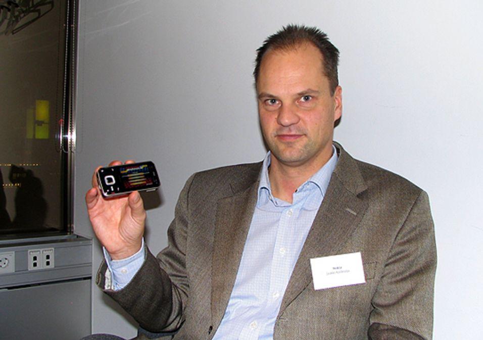Nokias N-Gage-sjef Jaakko Kaidesoja er ikke redd for en PSP-mobil.
