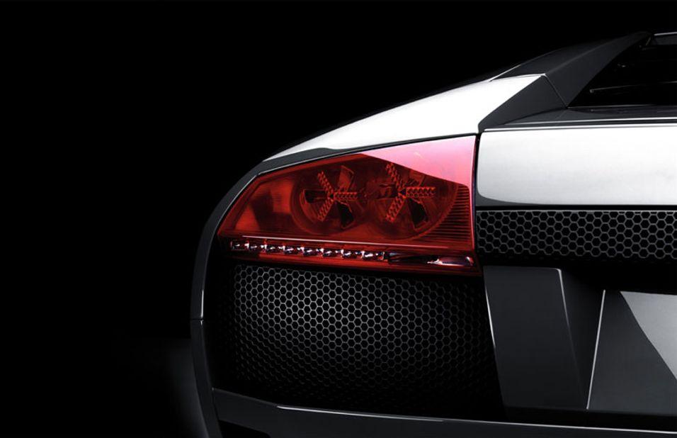Bakenden på en Lamborghini Murcielago får deg kanskje ikke til å tenke på mobiler med en gang.