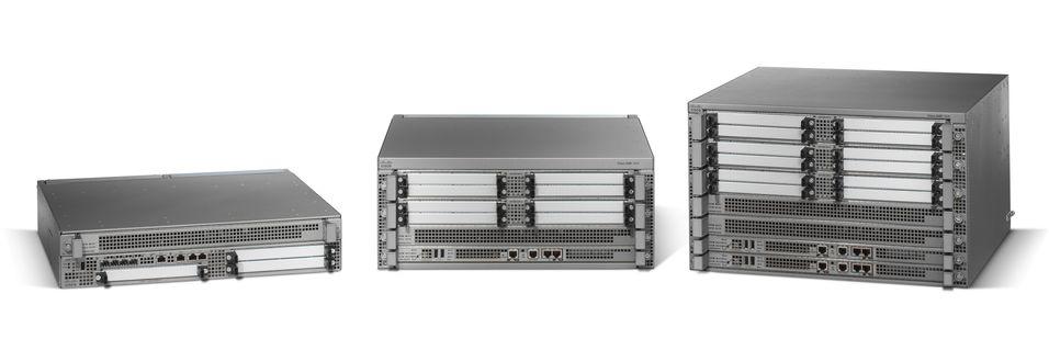 Kraft-rutere fra Cisco