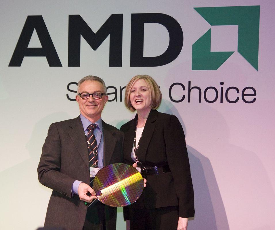 AMD viser frem 45 nm