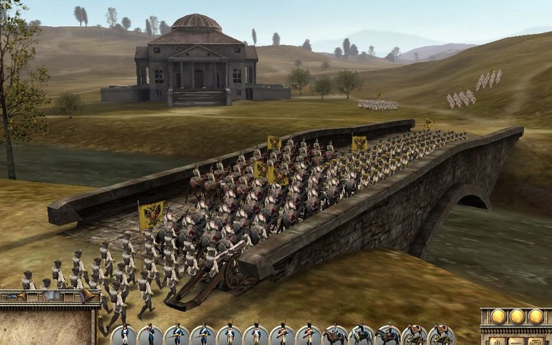 Скриншоты из игры Imperial Glory.