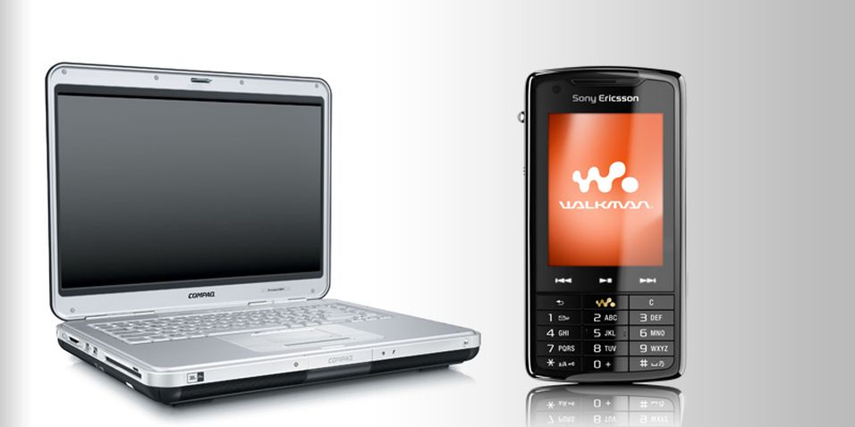 Nå kan UIQ-mobiler dele filer med PC-en over nettverk.