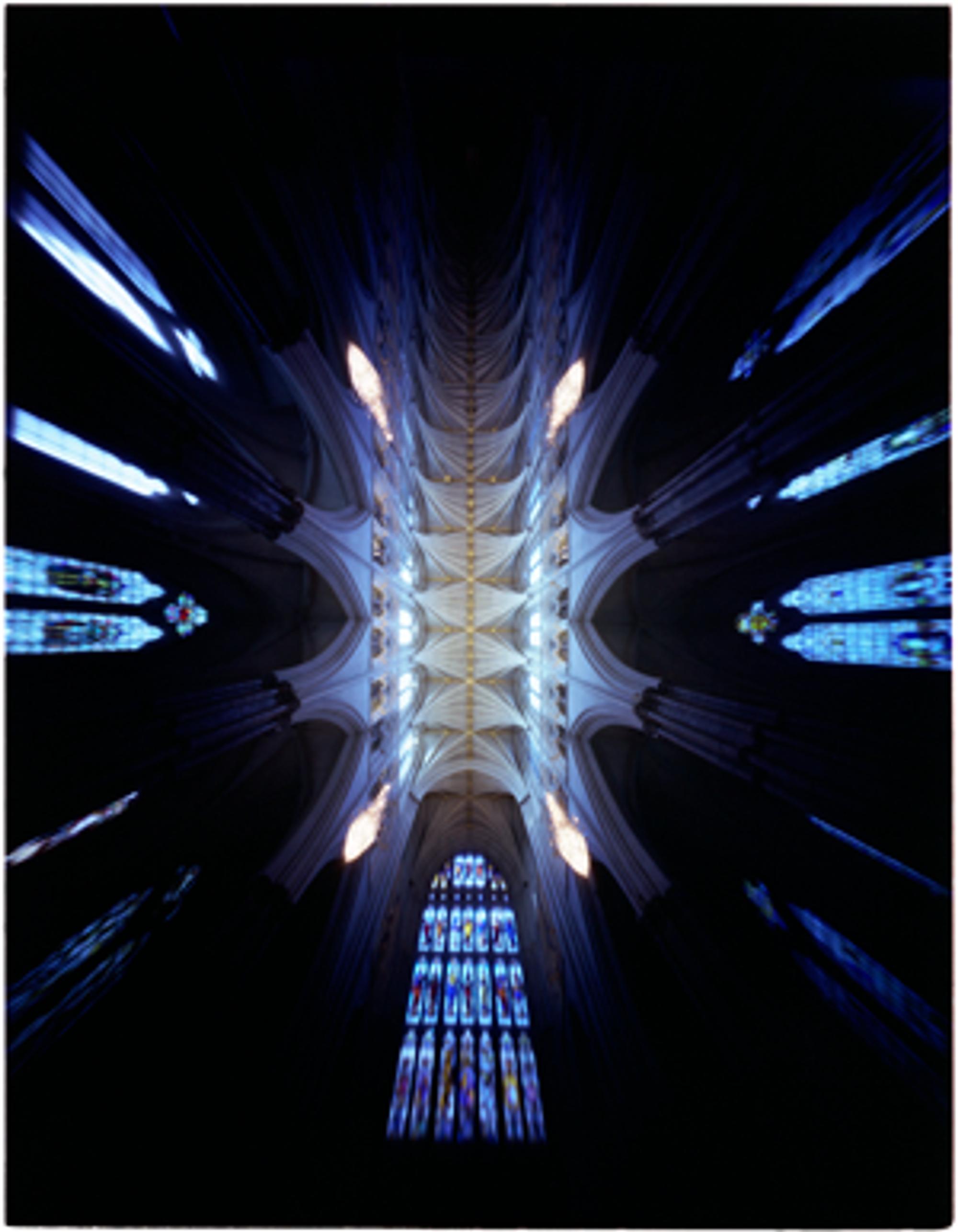 Westminster Abbey fotografert med 4x5