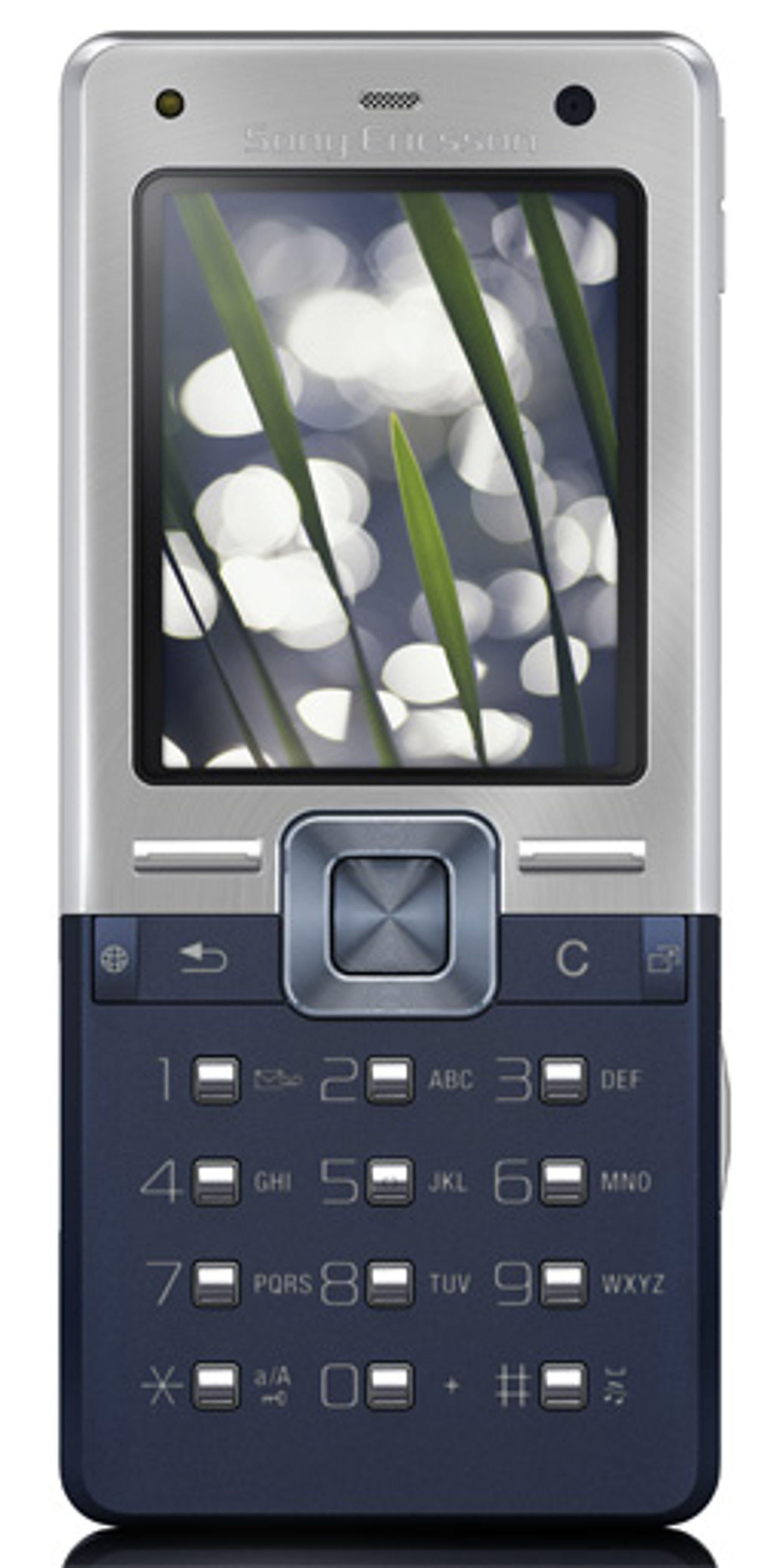 T650i er årets grønneste mobiltelefon. (Foto: Sony Ericsson)