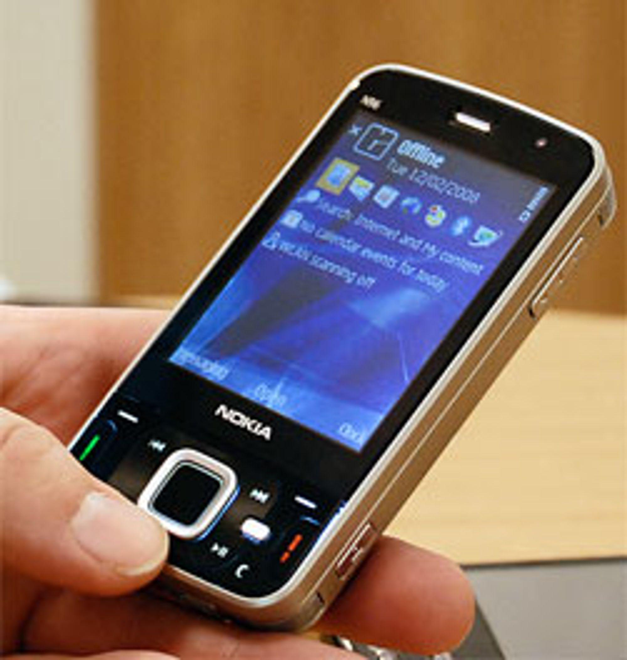 Denne teknobomben er en oppfølger til Nokia N95, og er blant mye annet utstyrt med GPS.