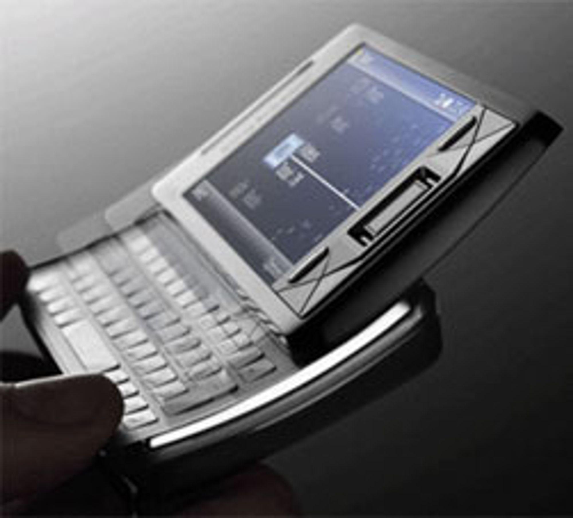 X1i er den første Windows-mobilen Sony Ericsson står bak.